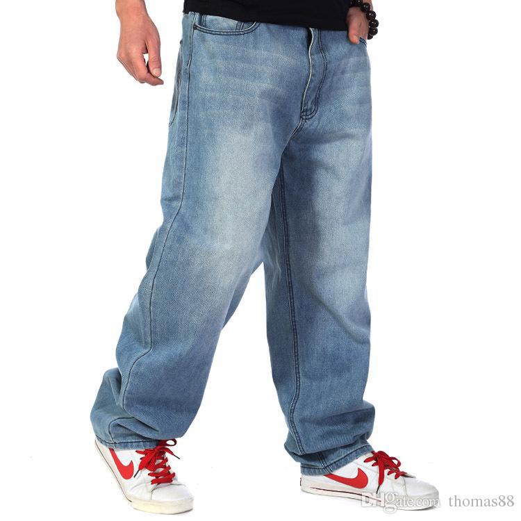 Baggy jeans loại quần jeans thich hợp để che khuyết điểm cho người có thân hình quá khổ