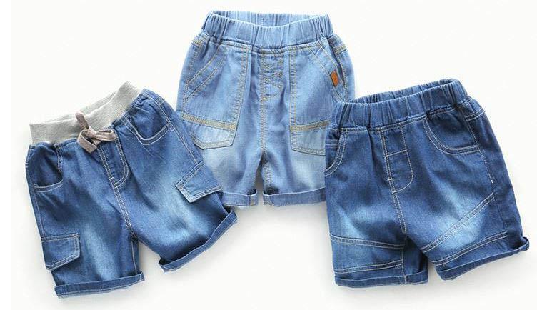 Quần short jeans mẫu mã đơn giản, chất lượng tùy theo yêu cầu.