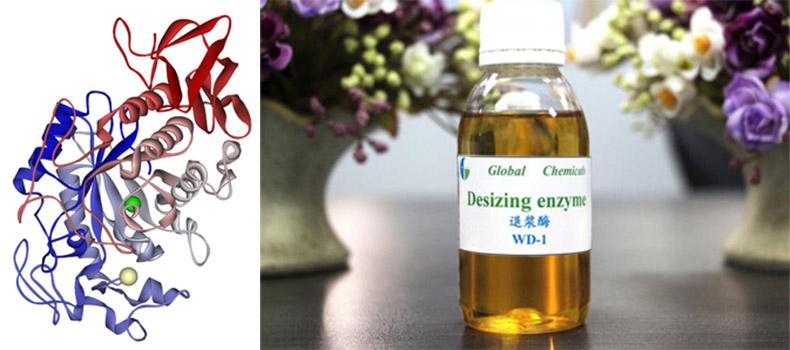 Alpha Amylase enzyme (Men) được dùng để rũ hồ tinh bột cho các loại vải dệt thoi cotton, terylene/cotton, tencel,viscose