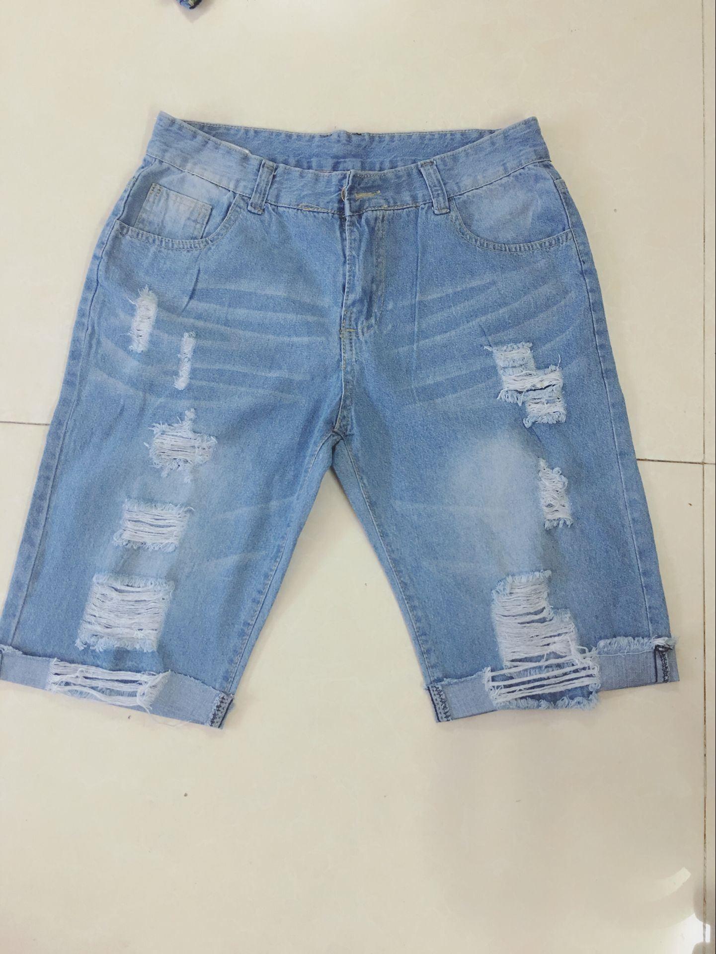 Mẫu thử quần Short jeans nam tại DOSI