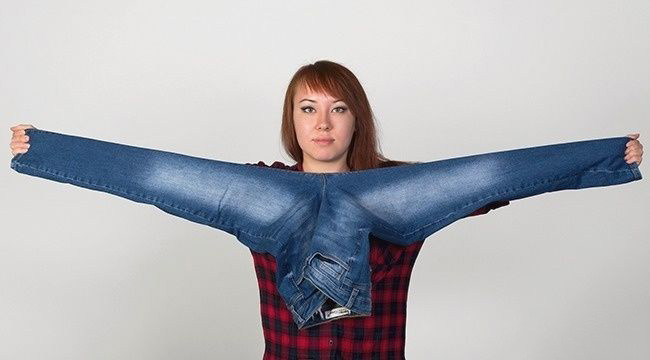 Chiều dài của sải tay thường bằng chiều cao của chân bạn