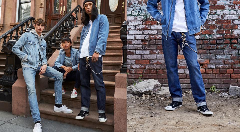 Giầy Sneaker kết hợp tuyệt đẹp với jeans tạo nên sự đơn giản mà mạnh mẽ được giới trẻ yêu thích