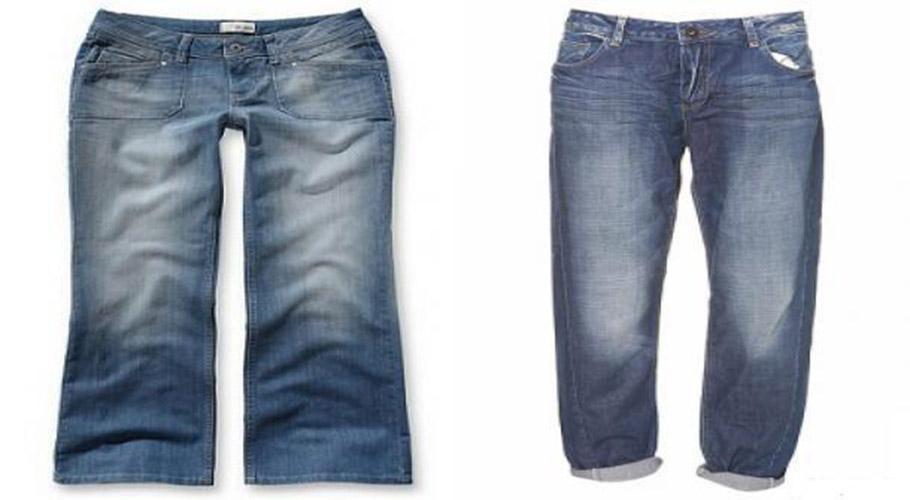 Hiệu ứng làm mòn vải trên quần jeans được tạo nên từ phương pháp Phun Cát