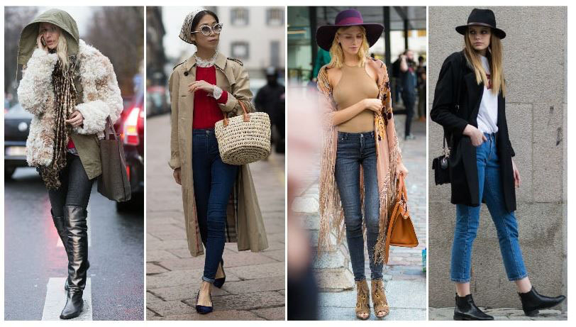 Jeans ống đứng kết hợp với bất kỳ loại giầy,dép, guốc nào cũng đều đẹp và không lỗi thời