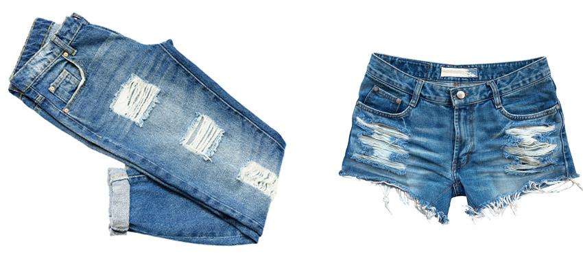 Nên lựa chọn kỹ loại quần jeans nào bạn sẽ làm rách