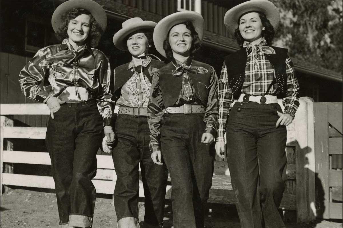 Những chiếc quần jeans nữ đầu tiên của hãng Levi's vào năm 1934