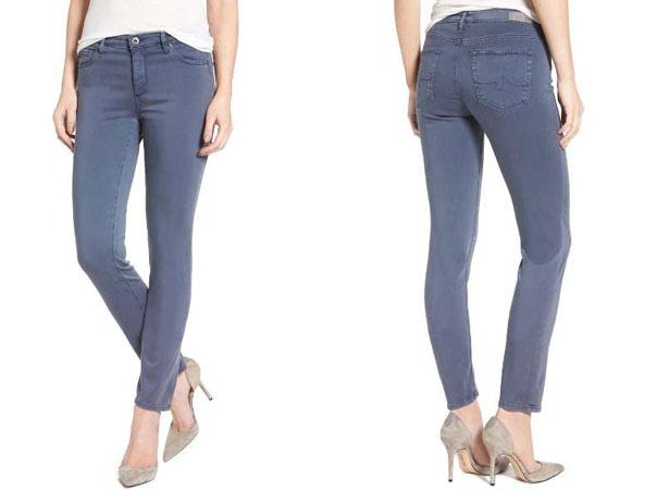 Quần jeans cạp trề- cạp thấp của phái nữ
