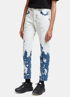 Bleach wash jeans của hãng Gucci mới cho ra mắt thị trường.