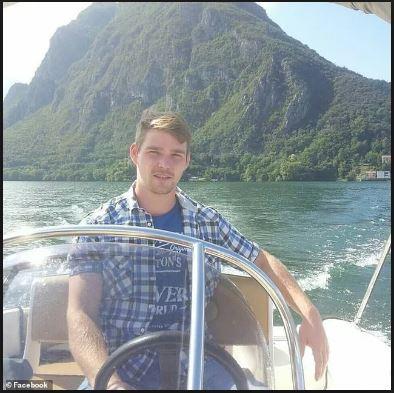 Arne murke hình chụp trên du thuyên trước khi anh bị mất tích dưới biển
