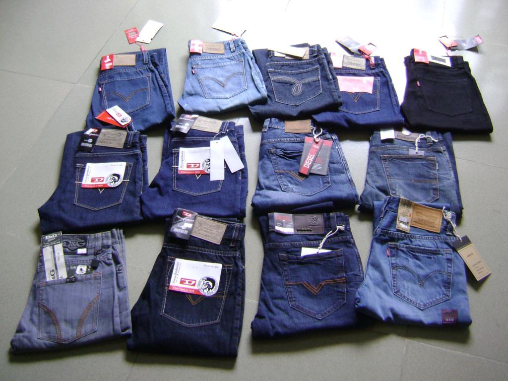 Bỏ sì quần jeans Nam/Nữ/Trẻ Em giá rẻ tại Xưởng may DOSI
