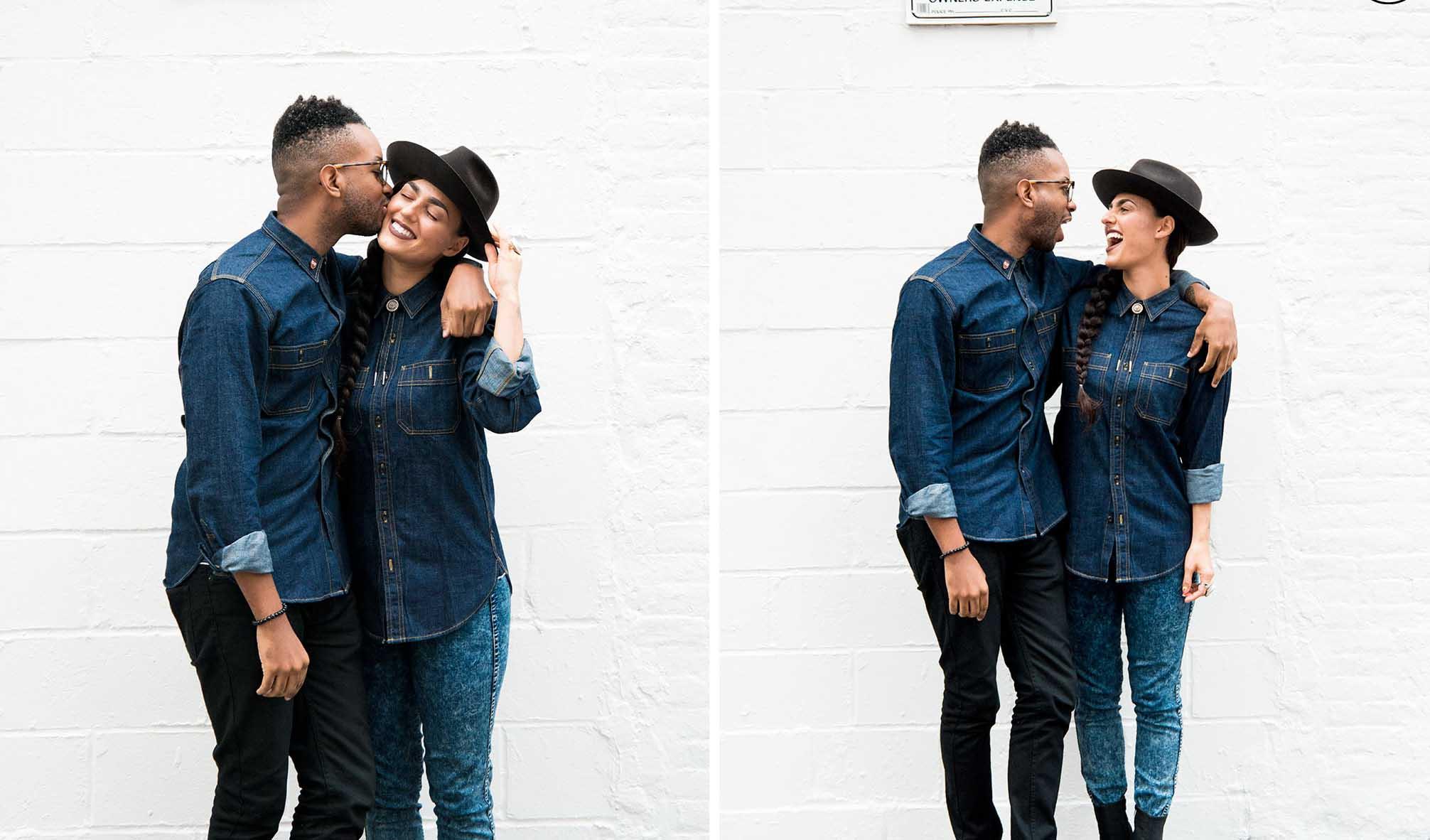 Quần jean couple là tuyên ngôn tinh yêu của hai người dành tặng cho nhau