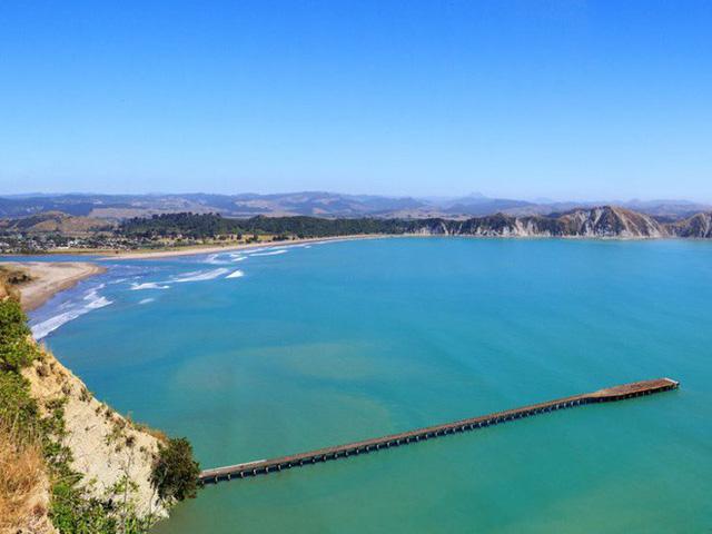 Vịnh Tolaga New Zealand nơi xảy ra tai nạn
