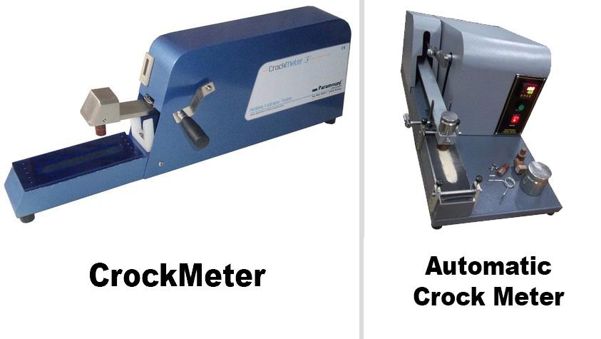 Crockmeter và automatic crock meter