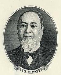 Levi Strauss người đã phát minh ra quần jean vào năm 1853