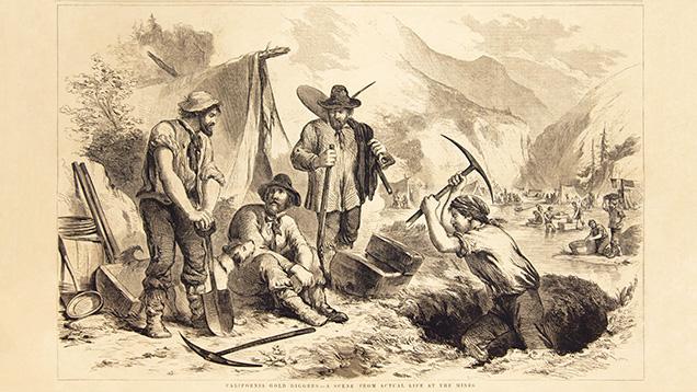 Quần jean ra đời vào giữa cơn sốt vàng California năm 1847 -1855