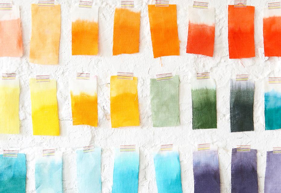 Độ phai màu của vải là tiêu chí đầu tiên trong quá trình test