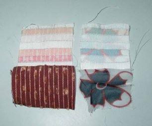 Mầu thử nghiệm bao gồm mẫu vải A và mẫu vải B được may ở 1 gốc.