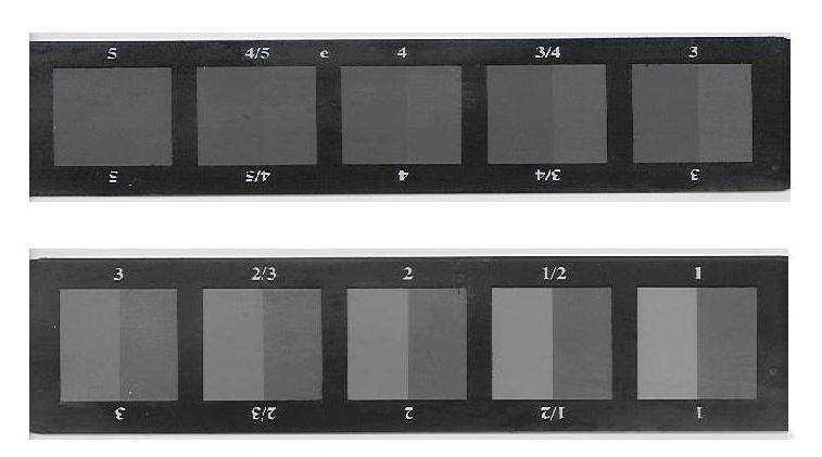 Thước xám đo độ bền màu (Grey Scale for Color Change)