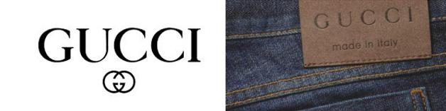 Thương hiệu quần jeans Gucci