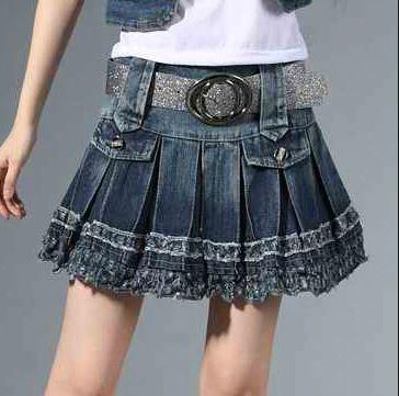 Tuổi trẻ là độ tuổi thích hợp nhất để mặc váy jeans
