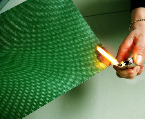 Vải Canvas kháng lửa được dệt bằng sợi tổng hợp