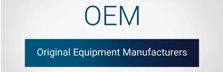 OEM nghĩa là Original Equipment Manufacturing
