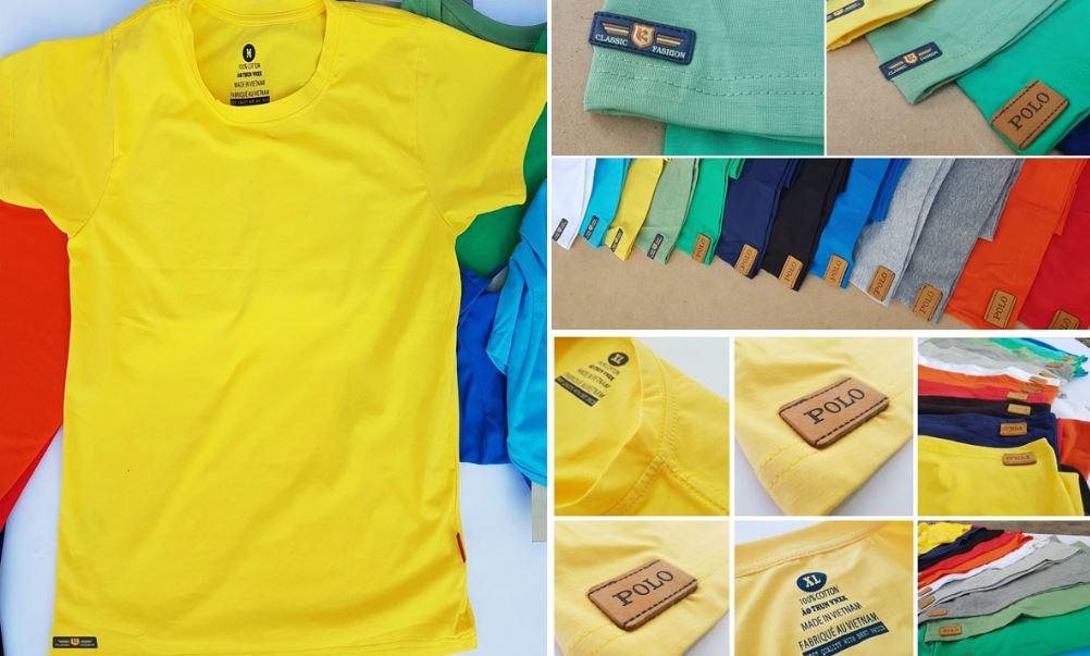 Áo lớp hay đồng phục nhóm nên chọn các loại vải cotton pha thun thông dụng, vừa thoáng mát, vừa phù hợp với mọi người.