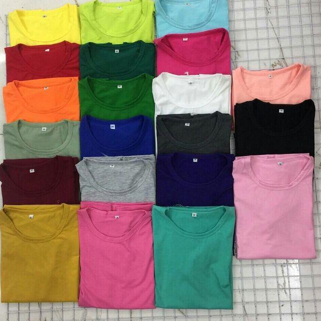 Chỉ nên chọn 1 màu đơn sắc làm màu chủ đạo cho áo nhóm là lựa chọn tốt nhất