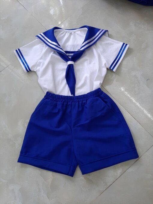 Mẫu đồng phục học sinh mần non dành cho bé trai đã được xuất xưởng tại DOSI