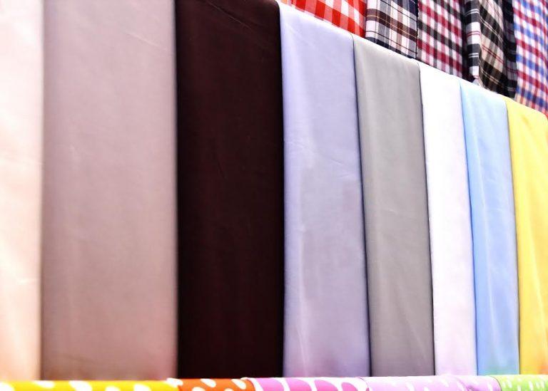 Vải Kate Silk là loại vải phổ biến nhất trong việc may áo sơ mi học sinh tại Việt Nam