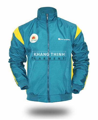 Công ty may áo khoác theo yêu cầu