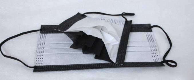 3 lớp vải của một chiếc khẩu trang y tế - Hình ảnh thật tế