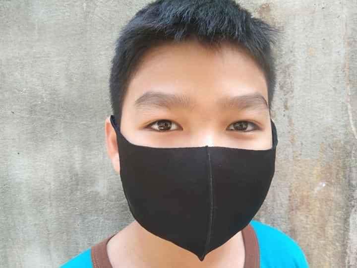 Khẩu Trang 3D Polly Mask Chất Lượng Cao Chống Bụi Mịn Màu Đen! 16