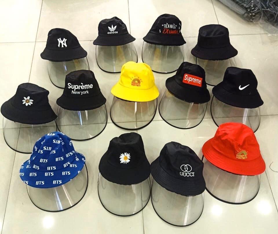 Mũ vải kaki có kính chắn bụi bán giá sỉ, giá bán buôn tạo điều kiện cho các bạn bán Online nhập hàng
