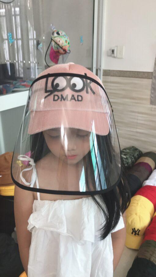 Mũ Chống Dịch Dành Cho Trẻ Em LOOK Đáng Yêu. 3
