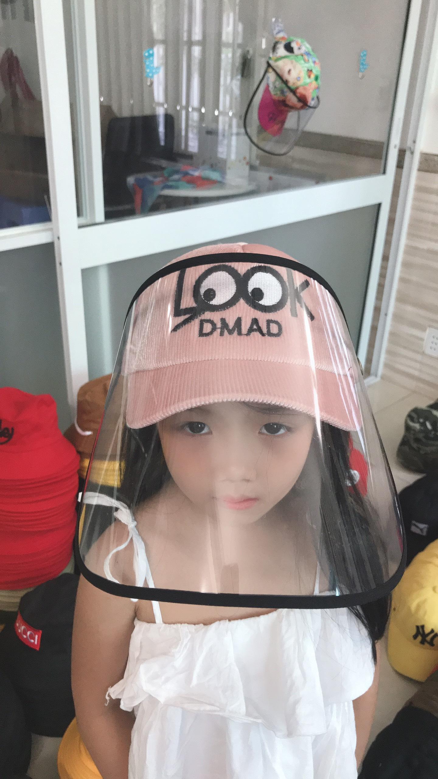 Mũ Chống Dịch Dành Cho Trẻ Em LOOK Đáng Yêu. 10