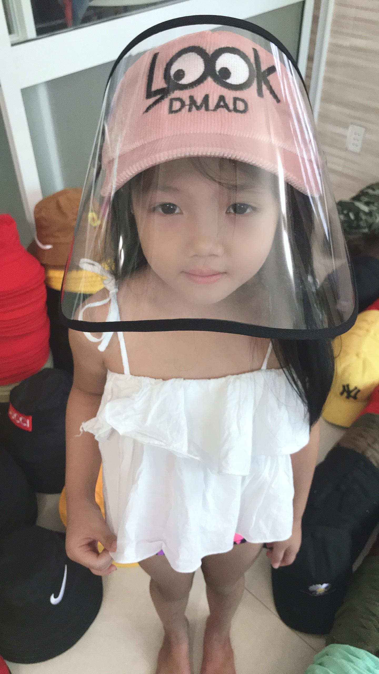 Mũ Chống Dịch Dành Cho Trẻ Em LOOK Đáng Yêu. 8