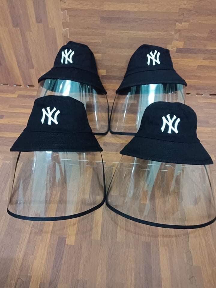 Nón tai bèo NY loại nón có màng che chống giọt bắn dành cho người lớn.