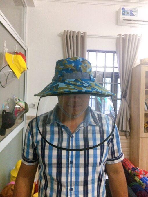 Nón Tai Bèo Chống Dịch Dành Cho Người Lớn Màu Rằn Ri Thủy Thủ! 3