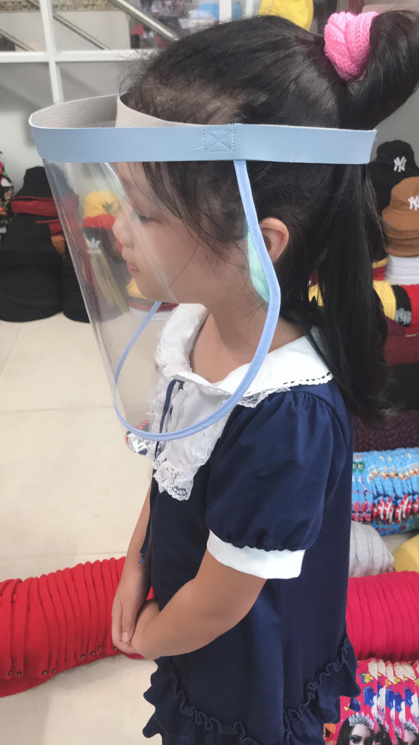 Vành Nhựa Chống Dịch Đơn Giản Dành Cho Người Lớn & Trẻ Em. 8