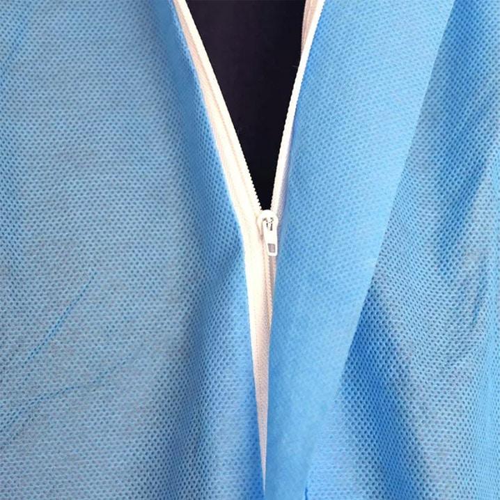 dây kéo quần áo bảo hộ chống dịch