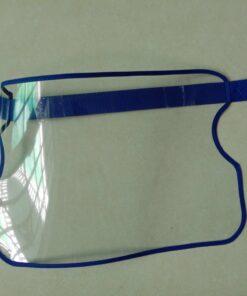 Vành Chống Dịch Bằng Nhựa Loại Đơn Giản Gài Bằng Dính Gai Mẫu Trơn Chưa In Logo 12