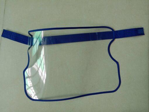 Vành Chống Dịch Bằng Nhựa Loại Đơn Giản Gài Bằng Dính Gai Mẫu Trơn Chưa In Logo 5