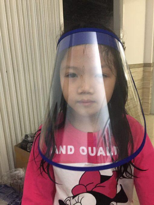 Vành Nhựa Bảo Vệ Tránh Dịch Bệnh Cột Dây Phia Sau Dành Cho Người Lớn & Trẻ Em. 4