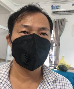 Khẩu Trang Eco Mask 3D Có Van Thở Làm Bằng Vải Không Dệt 100% Việt Nam 11