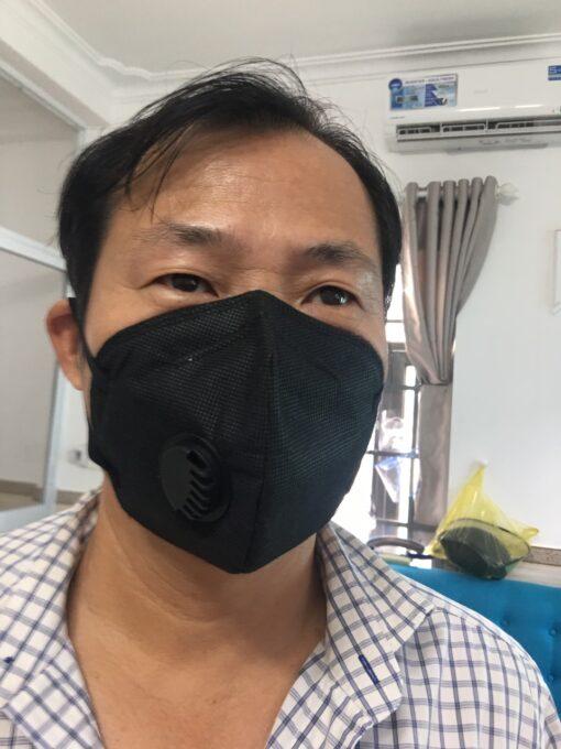 Khẩu Trang Eco Mask 3D Có Van Thở Làm Bằng Vải Không Dệt 100% Việt Nam 6
