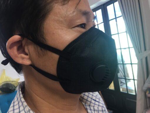 Khẩu Trang Eco Mask 3D Có Van Thở Làm Bằng Vải Không Dệt 100% Việt Nam 7