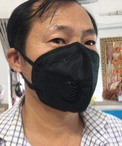 Khẩu Trang Eco Mask 3D Có Van Thở Làm Bằng Vải Không Dệt 100% Việt Nam 13