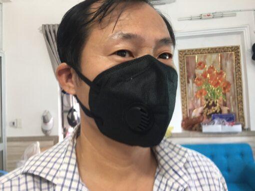 Khẩu Trang Eco Mask 3D Có Van Thở Làm Bằng Vải Không Dệt 100% Việt Nam 8