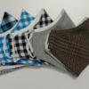 Bộ 6 Mẫu Khẩu Trang Vải Kate Được May Size Phương Tây Mũi Cao Theo Yêu Cầu Đặt Hàng Số Lượng Lớn. 1